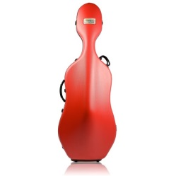 Bam 1001SWR Classic Cello Case with Wheels - Red
