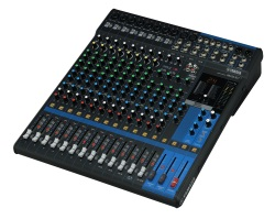 Yamaha  MG16XU 16-Input, 6 Bus Mixer. Single Knob Compression. DSP, USB I/O, 12Rack, Rack Kit inlud
