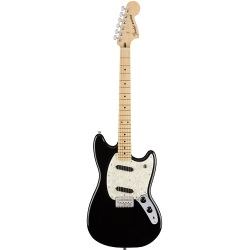 "Fender®  24"" Scale Mustang w/ Maple Fingerboard - Black (014-4042-506)"