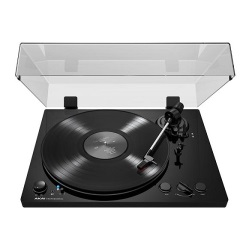 Akai BT100 Premium Performance Belt-Drive Turntable w/ Phono, Line, Blue Tooth and USB out