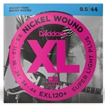 D'Addario EXL120+ .095 | .044 Nickel Wound Super Light Plus Electric Guitar Strings