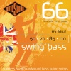 Rotosound RS66LE .050 | .110 Swing Bass 66 Stainless Steel Bass Guitar Strings