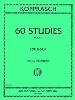 Sixty (60) Studies For French Horn Book 1