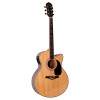 Giannini GF-4-CEQ Performance Series Jumbo Cutaway Acoustic/Electric Guitar