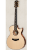 Taylor 514CE-FMLTD 500 Series Grand Auditorium Cutaway Acoustic/Electric Flamed Mahogany