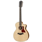 Taylor 254CE-DLX 200 Series Grand Auditorium Acoustic/Electric Guitar 12 string