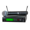 Shure  SLX24/BETA58A SLX Handheld Wireless Microphone System