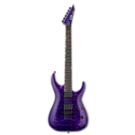 ESP  LTD MH-1000 Neck Thru Quilted Maple See Thru Purple (LMH1000NTQMSTP)