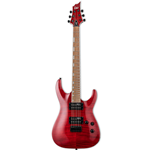 ESP  LTD Horizon Series H-200FM Electric Guitar - See Thru Red (LH200FMSTR)