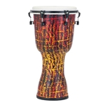 "Pearl Drums  14"" Key Tuned Djembe - Tribal Fire PBJV14697"