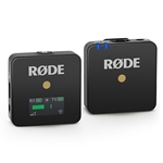 Rode  Compact Wireless Microphone System - Black WIRELESSGO