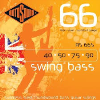 Rotosound RS66S .040 | .90 Swing Stainless Steel Short Scale Roundwound Bass Guitar Strings