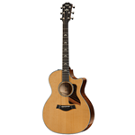 Taylor Guitars  600 Series Grand Auditorium V- Class Cutaway Acoustic/Electric Guitar 614CE