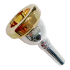 Bach  12C Small Shank Trombone Mouthpiece With Gold Rim (35012CGR)