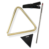 Grover Pro Percussion  Sound Values Triangle Package (TR-B-6-KIT)
