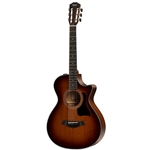 Taylor Guitars  300 Series 12-Fret Grand Concert Acoustic/Electric Guitar 322CE-12FRET