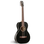 Art & Lutherie  AMI Cedar Steel String Acoustic Guitar - Black 023561