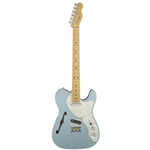 Fender®  American Elite Telecaster Thinline w/ Maple Fingerboard - Mystic Ice Blue 011-4312-762