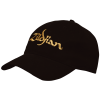 Zildjian  Black Baseball Cap with Gold Logo T3200