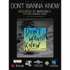 Don't Wanna Know - PVG