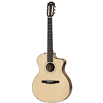 Taylor Guitars  100 Series Grand Auditorium Walnut/Sitka Nylon String Acoustic/Electric Guitar 114CE-N