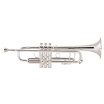 "Bach  180S-37 ""Stradivarius"" Professional Bb Trumpet - Silver-Plated"