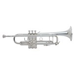 "Bach  180S-43 ""Stradivarius"" Professional Bb Trumpet - Silver-Plated"