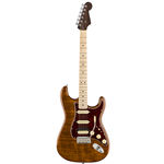 Fender®  Rarities Series Stratocaster w/ Flame Maple Top & Rosewood Neck - Golden Brown 017-6504-871