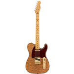 Fender®  Rarities Series Telecaster w/ Red Mahogany Top & Maple Neck - Natural 017-6506-821