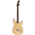 Fender®  Rarities Series Stratocaster w/ Quilt Maple Top & Rosewood Neck - Natural 017-6500-821