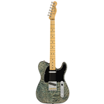 Fender®  Rarities Series Telecaster w/ Quilt Maple Top & Maple Neck - Blue Cloud 017-6507-887