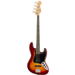 Fender®  Rarities Series Jazz Bass w/ Flame Ash Top & Ebony Fingerboard - Plasma Red Burst 017-6508-873