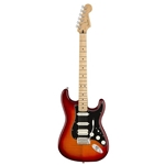 Fender®  Player Series Stratocaster HSS Plus Top w/ Maple Fingerboard - Aged Cherry Burst 014-4562-531