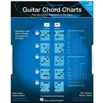 Guitar Chord Chart w/ 24 Major, Minor, Augmented & Diminished Chords