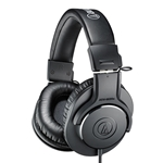 Audio Technica  Professional Monitor Headphones - Black ATH-M20X