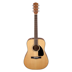 Fender®  CD-60 Steel String Acoustic Guitar w/ Case Starter Pack - Natural 097-0110-221