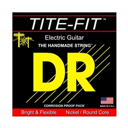 DR Strings JZ-12 Tite-Fit Nickel Plated Round-Wound Jazz Electric Guitar Strings .012 | .052