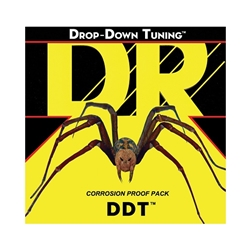 DR Strings DDT-13 Drop-Down Tuning Hexagonal-Core Electric Guitar Strings .013 | .065