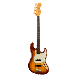 Fender®  75th Anniversary Commemorative Jazz Bass w/ Rosewood Fingerboard - Bourbon Burst 017-7562-833