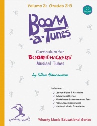 Boomwhackers  Boom-A-Tunes Volume 2 with CD BT2B