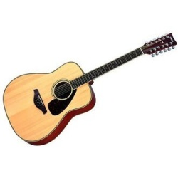 Yamaha  FG Series 12-String Acoustic Guitar - Natural FG720S-12