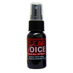 Clear Voice  Strawberry Lemonade Vocal Spray, 1 oz. 107CV