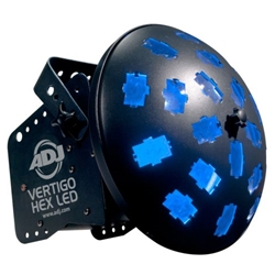 American DJ  Vertigo Hex LED Effect Light VERTIGOHEXLED