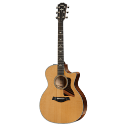 Taylor Guitars  Grand Auditorium V- Class Cutaway Acoustic/Electric Guitar 614CE