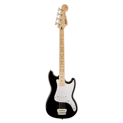 Fender®  Squier Bronco Electric Bass w/ Maple Fingerboard - Black 031-0902-506
